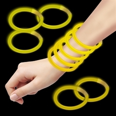 Yellow Glow Bracelets for Sale