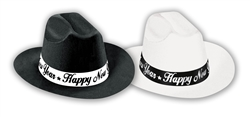 Cowboys & Cowgirls Black and White Cowboy Hat