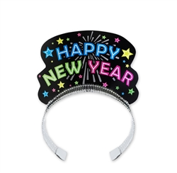 Black Neon Tiara | New Year's Eve Party Favors