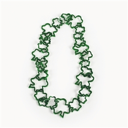 Shamrock-Shaped Link Necklace | Party Supplies