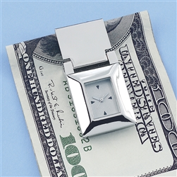 Money Clip with Clock