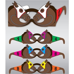 Race Horse Glasses | Kentucky Derby Party Supplies