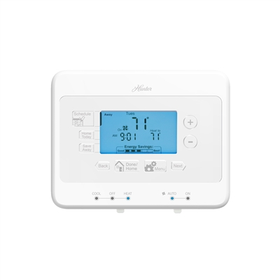 Universal 7 Day Digital Programmable Thermostat (44378)