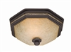 Belle Meade Bathroom Fan and Light - New Bronze Finish (82023)