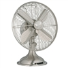 "12"" Retro Fan in Brushed Nickel (90400)"