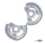 1970-81 Camaro Front Disc Brake Backing Plates - Pair