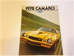 1978 Camaro Dealer Brochure - Original GM