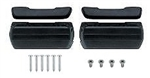 1968-69 Camaro Standard Arm Rest Bases & Vinyl Wrapped Pad Kit