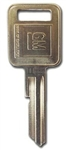 Original GM Ignition E-Code Key Blank
