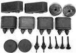 1967-68 Camaro Rubber Stopper Kit