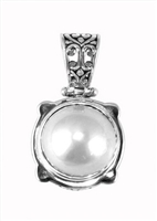 Sterling Silver Mabe Pearl Pendant