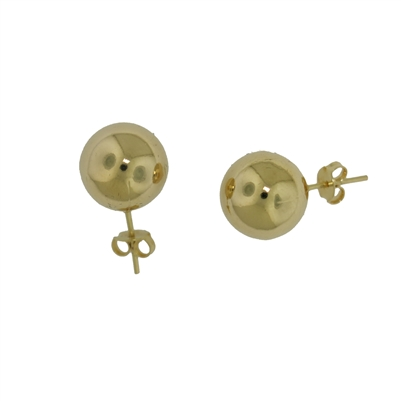 Gold Filled Ball Studs-12mm