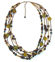 Terra Bella Glass Necklace