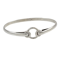 Sterling SIlver Twin Circles Bracelet