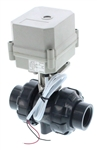 "Electric PVC Ball Valve - 1"" NPT"