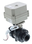 "Electric PVC Ball Valve - 3/4"" NPT"