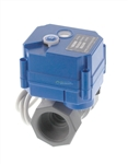 "CPVC Motorized Ball Valve - 1/2"" to 1"" NPT"