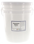 DeIonized Water Type IV - 5 Gallons