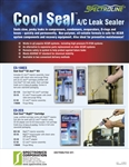 Spectroline AC Cool Seal Bulletin