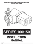 Instruction Manual Chem-Tech Series 100, 150