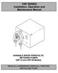 Instruction Manual  MEC-O-MATIC VSP SERIES