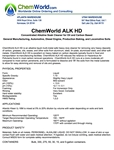 ChemWorld ALK HD Technical Information