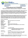 ChemWorld ALK POWDER Technical Information
