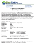 ChemWorld BOOST Technical Information