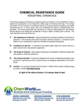 Pump Part Chemical Resistance Guide