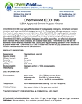 ChemWorld ECO 396 Technical Information