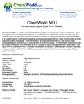 ChemWorld NEU Technical Information