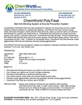 ChemWorld PolyTreat Technical Information