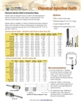 Chemical Injection Product Bulletin