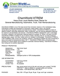 ChemWorld XTREM Technical Information
