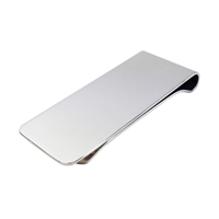 Sterling Silver Money Clip, Plain and Simple!