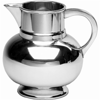 Polished Pewter Beer or Cocktail Pitcher