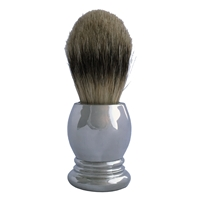 Pewter Handled Spencer Style Shaving Brush
