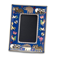Noahs Ark Fine English Bone China Photograph Frame