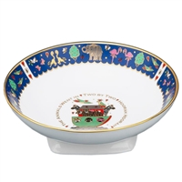 Noahs Ark Fine English Bone China Christening Bowl