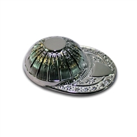 Sterling Silver Jockey Cap Tea Caddy Spoon
