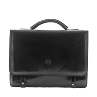 The Battista Two Section Briefcase Bag