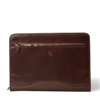 The Veroli Italian Leather Ring Binder Folder