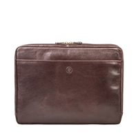 The Verzino Italian Leather 15 inch Macbook / Laptop Case