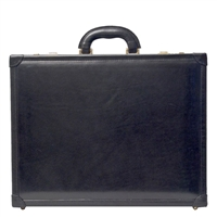 The Buroni Luxury Italian Leather Attache Case
