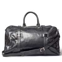 The FleroM Medium Leather Weekend Travel Bag