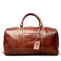 The FleroS Small Leather Weekend Travel Bag