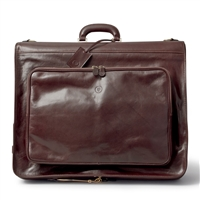 The Rovello Italian Leather Suit Carrier Luggage