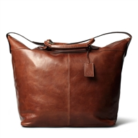 The Fabrizio Italian Leather Luxury Travel Bag