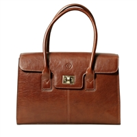 The Fabia Fine Italian Leather Laptop Business Handbag