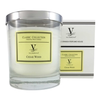 Classic Scented Candle - Cedar Wood Fragrance by Vila Hermanos